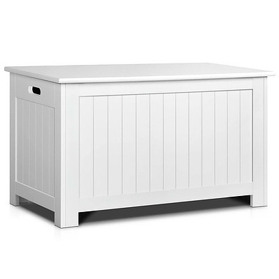 Kid's Toy Cabinet Chest White - Free Shipping