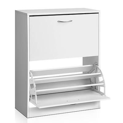 2 Door Shoe Cabinet - Free Shipping