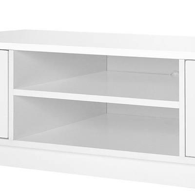 118 TV Unit - White - Free Shipping