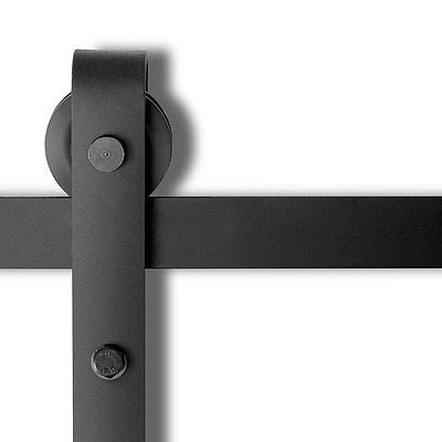 Sliding Barn Door Hardware - Black - Brand New - Free Shipping
