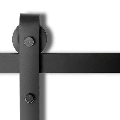 Sliding Barn Door Hardware - Black - Free Shipping