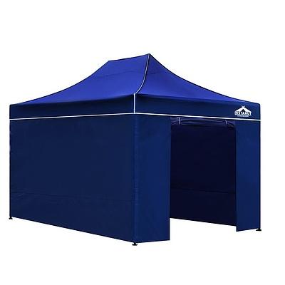 3x4.5M Outdoor Gazebo - Blue