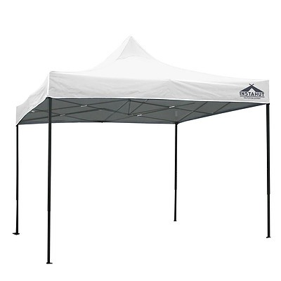 Gazebo Pop Up Marquee 3x3m Outdoor Tent Folding Wedding Gazebos White - Brand New - Free Shipping
