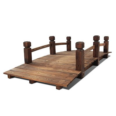Wooden Garden Bridge - Free Shipping