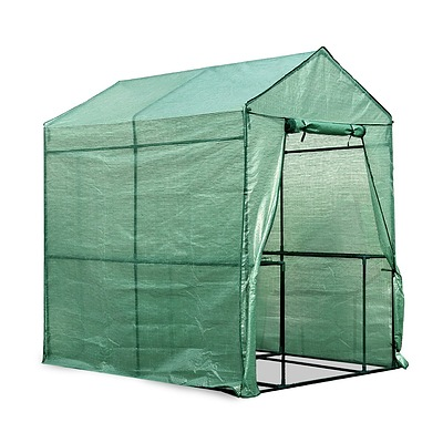 1.9 x 1.2M Walk-in All Weather Green House Greenhouse - Free Shipping