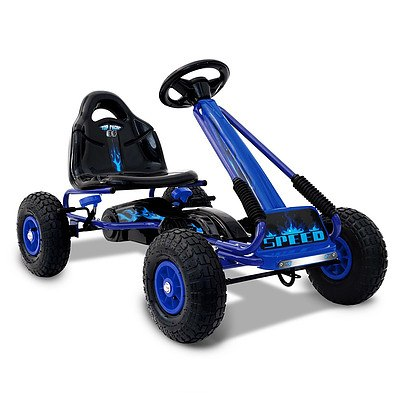 Kids Pedal Go Kart - Blue - Brand New - Free Shipping