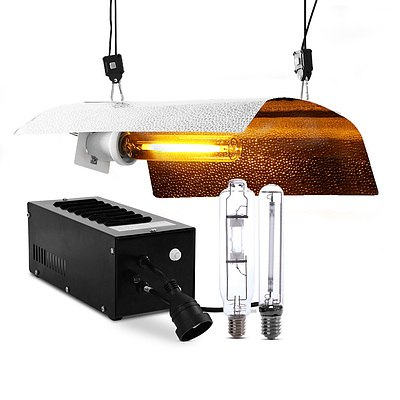 600W HPS MH Grow Light Kit Magnetic Ballast Reflector Hydroponic Grow System