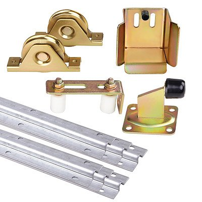 Sliding Gate Hardware Accessories Kit Track - Free Shipping
