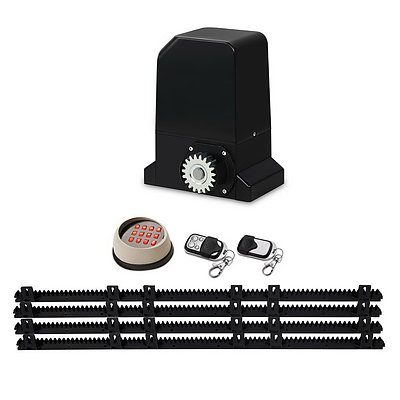 Auto Electric Sliding Gate Opener 1000KG Keypad 4M Rails - Brand New - Free Shipping