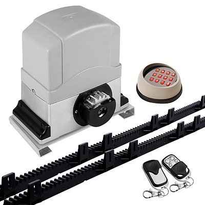 1200KG Sliding Electric Gate Opener Keypad+Remote Kit - Free Shipping