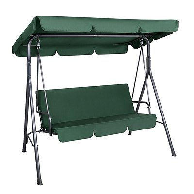 Outdoor Swing Chair Hammock 3 Seater Garden Canopy Bench Seat Backyard - Brand New - Free Shipping