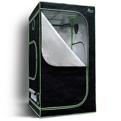 1680D 1MX1MX2M Hydroponics Grow Tent Kits Hydroponic Grow System