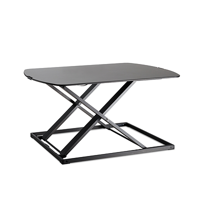 Height Adjustable Standing Desk - Black - Free Shipping
