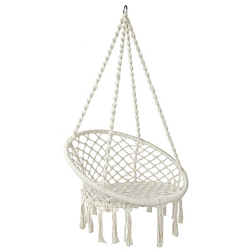 Hammock Swing Chair - Cream - Free Shipping