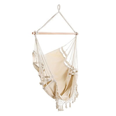 Creamy White Hanging Hammock Chair - Brand New - Free Shipping