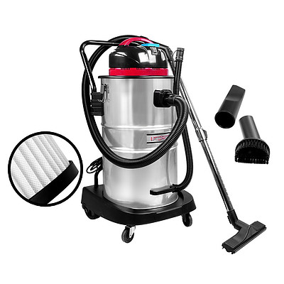 Industrial Commercial Bagless Dry Wet Vacuum Cleaner 60L - Brand New - Free Shipping