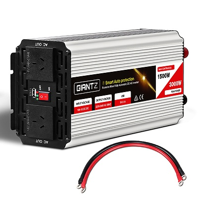 1500W/3000W Pure Sine Wave Power Inverter - Free Shipping
