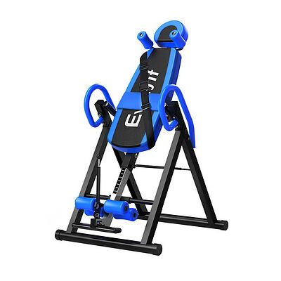 Everfit Gravity Inversion Table Foldable Stretcher Inverter Home Gym Fitness - Brand New - Free Shipping