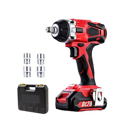 Cordless Impact Wrench 20V Lithium-Ion Battery Rattle Gun Sockets - Brand New - Free Shipping