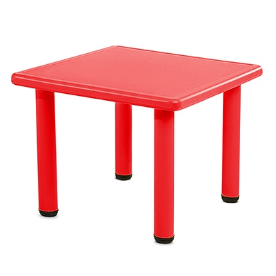 Kid's Table and Chair Set - Red - Free Shipping