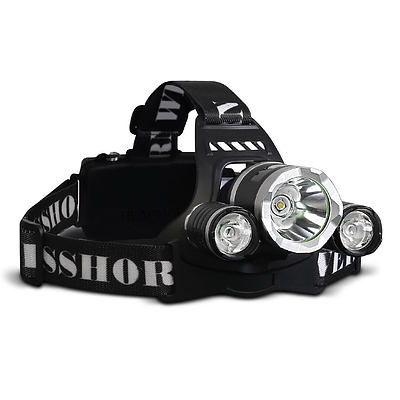 Set of 2 Four Mode LED Flash Torch Headlamp - Free Shipping