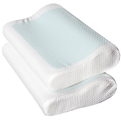 Cool Gell Memory Foam Pillow - Free Shipping