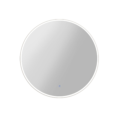 70CM LED Wall Mirror With Light Bathroom Decor Round Mirrors Vintage