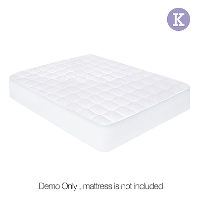 Giselle Bedding King Size Cotton Mattress Protector  - Free Shipping