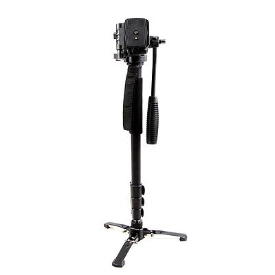 Camera DSLR Monopod 146CM Black - Brand New - Free Shipping