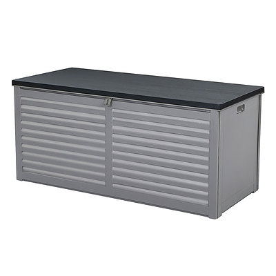 Outdoor Storage Box Bench Seat Garden Sheds Chest 490L - Brand New - Free Shipping