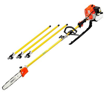 75CC 6.3m Chainsaw Brush Cutter Hedge Pruner Extension - Free Shipping