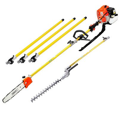 75CC 2 in 1 Multi Use Chainsaw Hedge Trimmer Pruner - Free Shipping