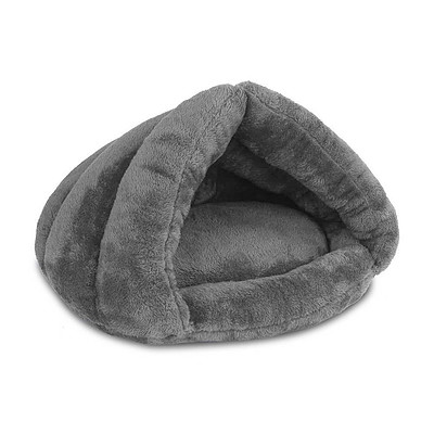 Cave Style Pet Bed Grey - Brand New - Free Shipping