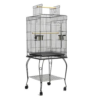 i.Pet Large Bird Cage with Perch - Black - Brand New - Free Shipping