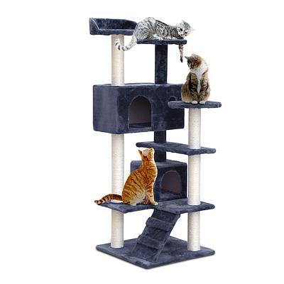 i.Pet 134cm Cat Scratching Post - Grey - Brand New - Free Shipping