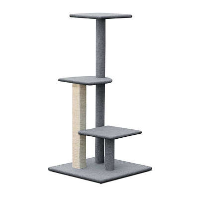 124cm Cat Scratching Post - Grey - Brand New - Free Shipping