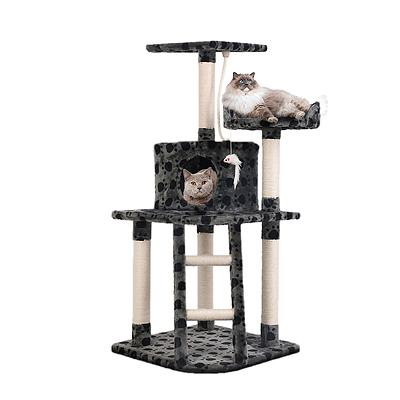 Cat Scratching Poles Post Furniture Tree House Condo Black Grey - Brand New - Free Shipping