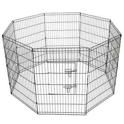 8 Panel Pet Playpen - 36 Inch - Free Shipping