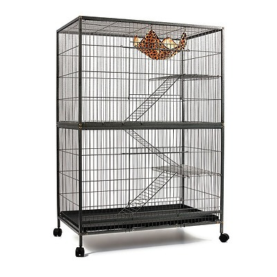 4 Level Pet Cage - Black - Brand New - Free Shipping
