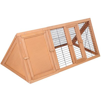 Rabbit Hutch Guinea Pig Chicken Ferret Cage Triangle - Brand New - Free Shipping
