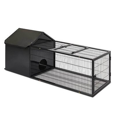 Large Hutch with Run - Free Shipping