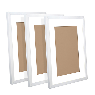 3 Piece Photo Gram Set - White - Brand New - Free Shipping