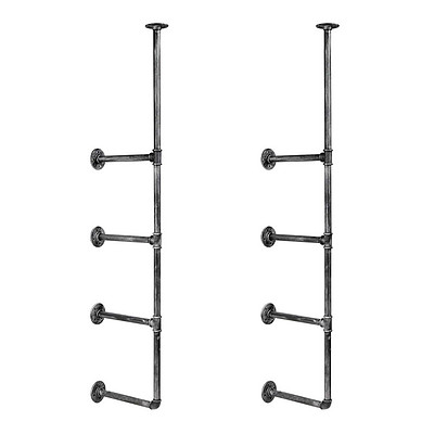 Wall Mount Pipe Bracket Shelf- 141 cm - Free Shipping