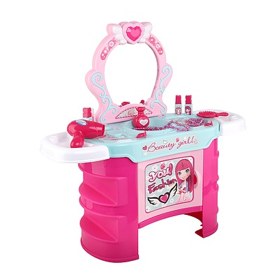 Kids Makeup Desk Play Set - Pink - Brand New - Free Shipping