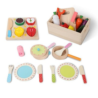 Children Wooden Kitchen 3 in 1 Play Set - Brand New - Free Shipping