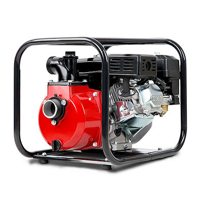 2inch High Flow Water Pump - Black & Red - Brand New - Free Shipping