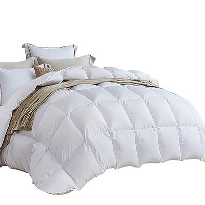 King Size Light Weight Duck Down Quilt Cover - Free Shipping