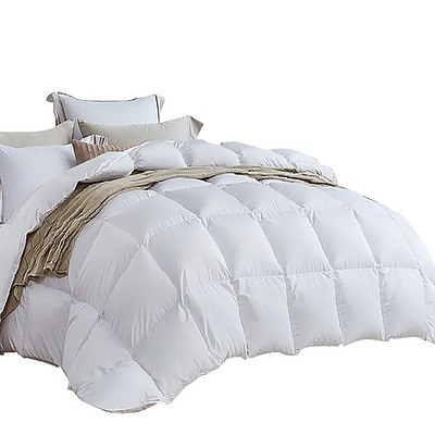 Queen Size Light Weight Duck Down Quilt Cover - Free Shipping