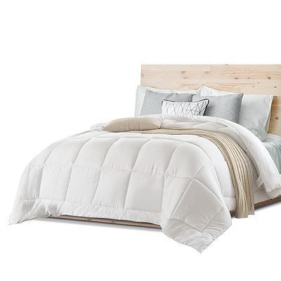 King Size Merino Wool Duvet Quilt- White - Free Shipping