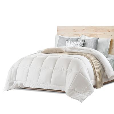 Queen Size Merino Wool Duvet Quilt- White - Free Shipping